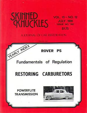Skinned Knuckles July 1991