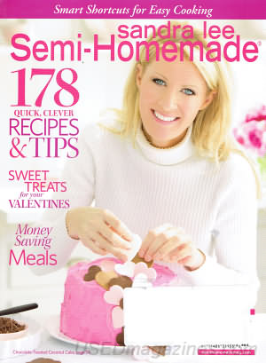 Sandra Lee Semi-Homemade January/February 2012