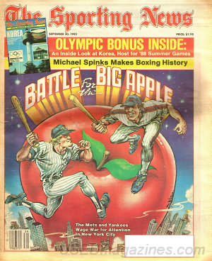 Sporting News September 30, 1985