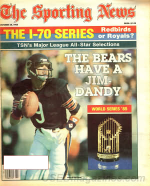 Sporting News October 28, 1985