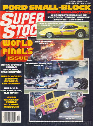 Super Stock & Dragster Illustrated January 1979