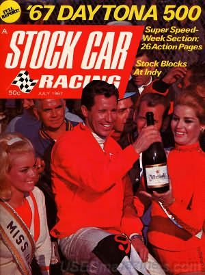 Stock Car Racing July 1967