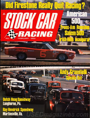 Stock Car Racing February 1969