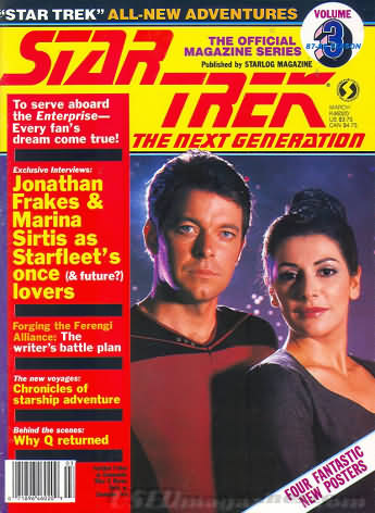 Star Trek the Next Generation Number 3