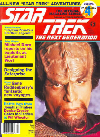 Star Trek the Next Generation Number 4