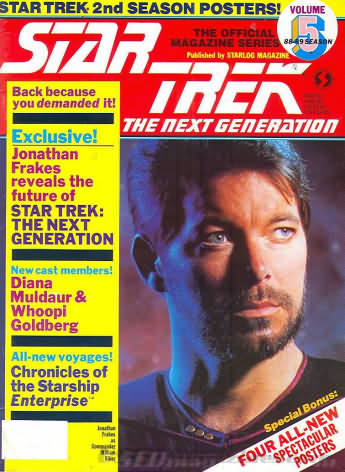 Star Trek the Next Generation Number 5