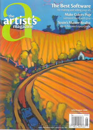 The Artist's Magazine July 2008