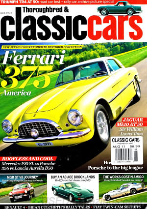 Thoroughbred & Classic Cars August 2011