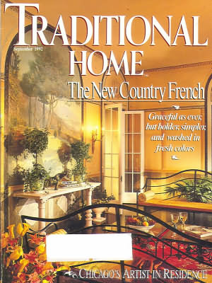 Traditional Home September 1992