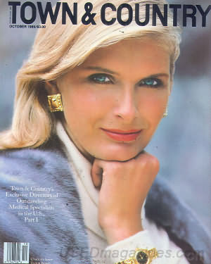 Town & Country October 1989