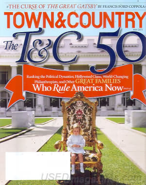Town & Country May 2013