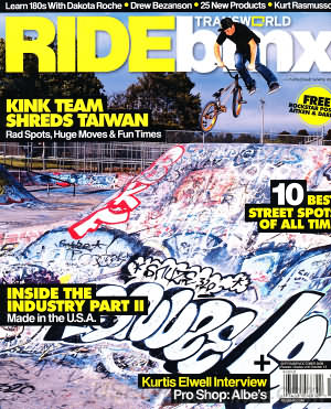 Transworld Ride BMX September/October 2009