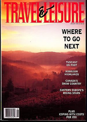 Travel & Leisure January 1991