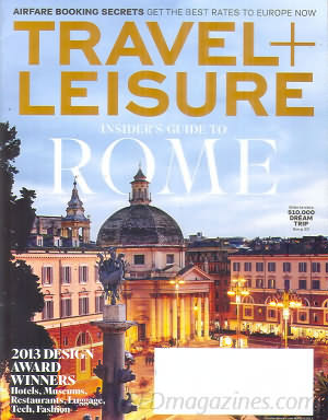 Travel & Leisure March 2013