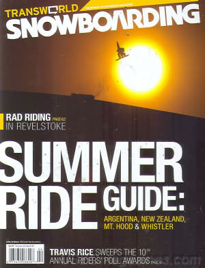 Transworld Snowboarding April 2009