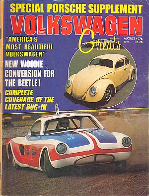 Volkswagen Greats August 1976