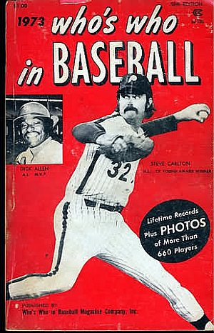Who's Who in Baseball 1973
