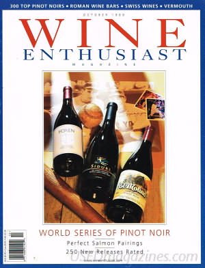 Wine Enthusiast October 1999