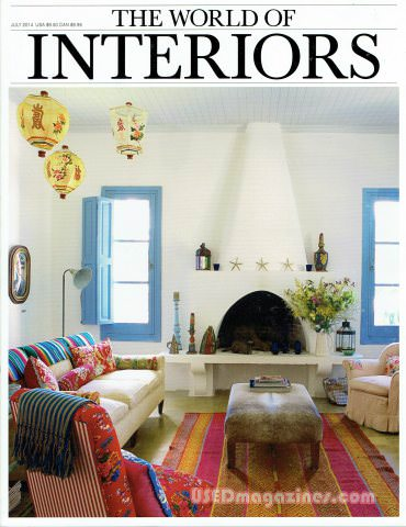 World of Interiors July 2014