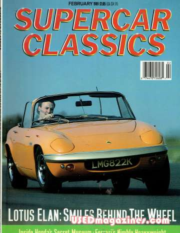 Supercar Classics February 1989