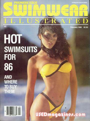 Swimwear Illustrated February 1986