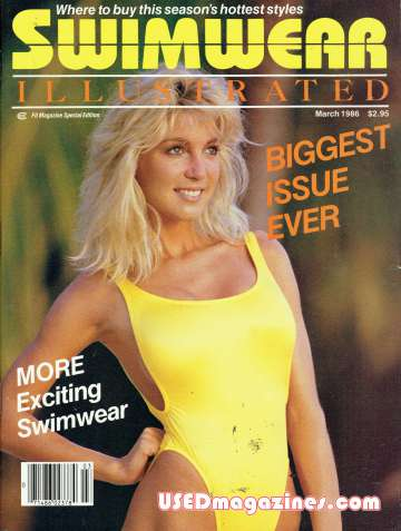 Swimwear Illustrated March 1986