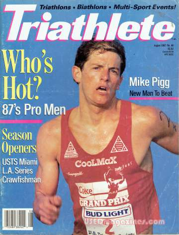 Triathlete August 1987