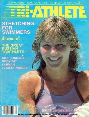 Tri-Athlete September 1985