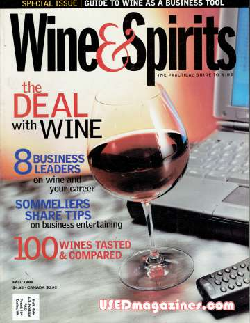 Wine & Sprits Fall 1999
