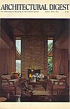 Architectural Digest March and April 1972