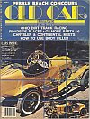 Old Car Illustrated January 1978