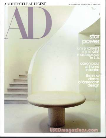 Architectural Digest March 2020