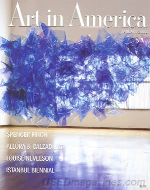 Art in America January 2008