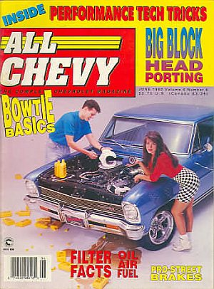 All Chevy June 1992