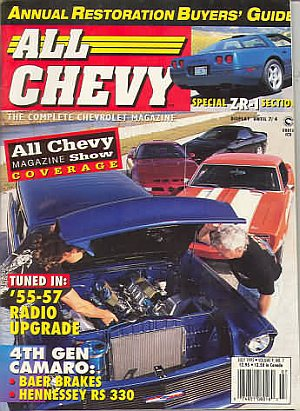 All Chevy July 1995