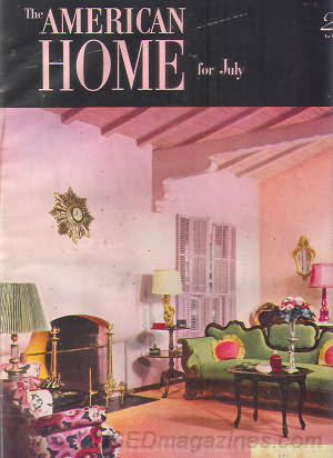 American Home July 1951