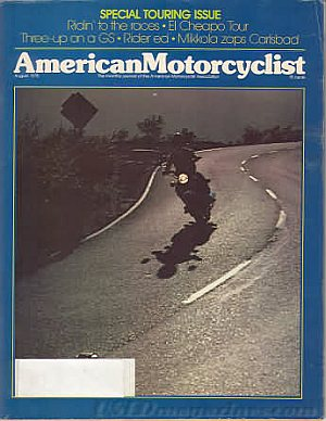 American Motorcyclist August 1978