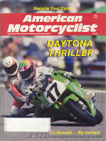 American Motorcyclist May 1992