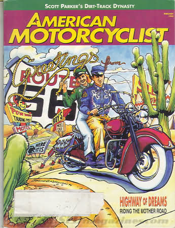American Motorcyclist February 1995
