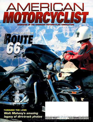 American Motorcyclist January 2003