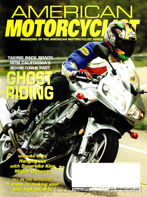 American Motorcyclist August 2003