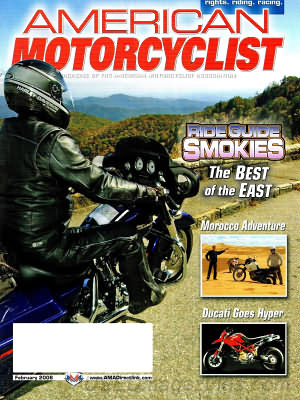 American Motorcyclist February 2006