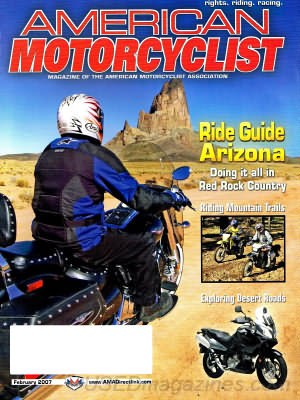 American Motorcyclist February 2007