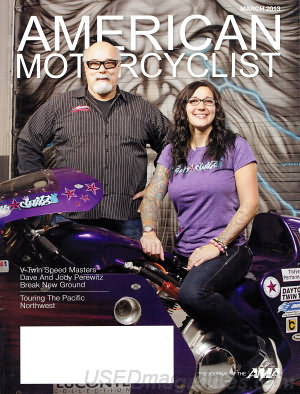 American Motorcyclist March 2013