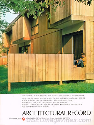 Architectural Record September 1972