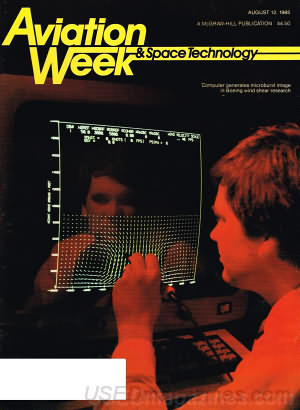 Aviation Week & Space Technology August 12, 1985