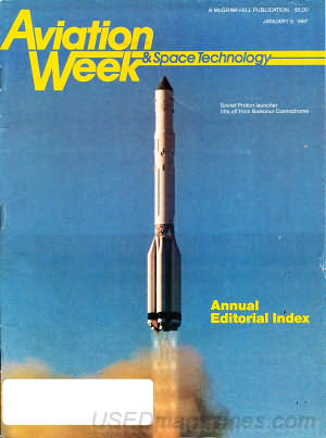 Aviation Week & Space Technology January 05, 1987