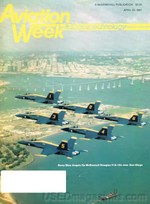 Aviation Week & Space Technology April 20, 1987