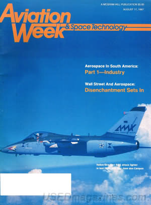 Aviation Week & Space Technology August 17, 1987