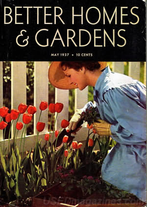 Better Homes & Gardens May 1937